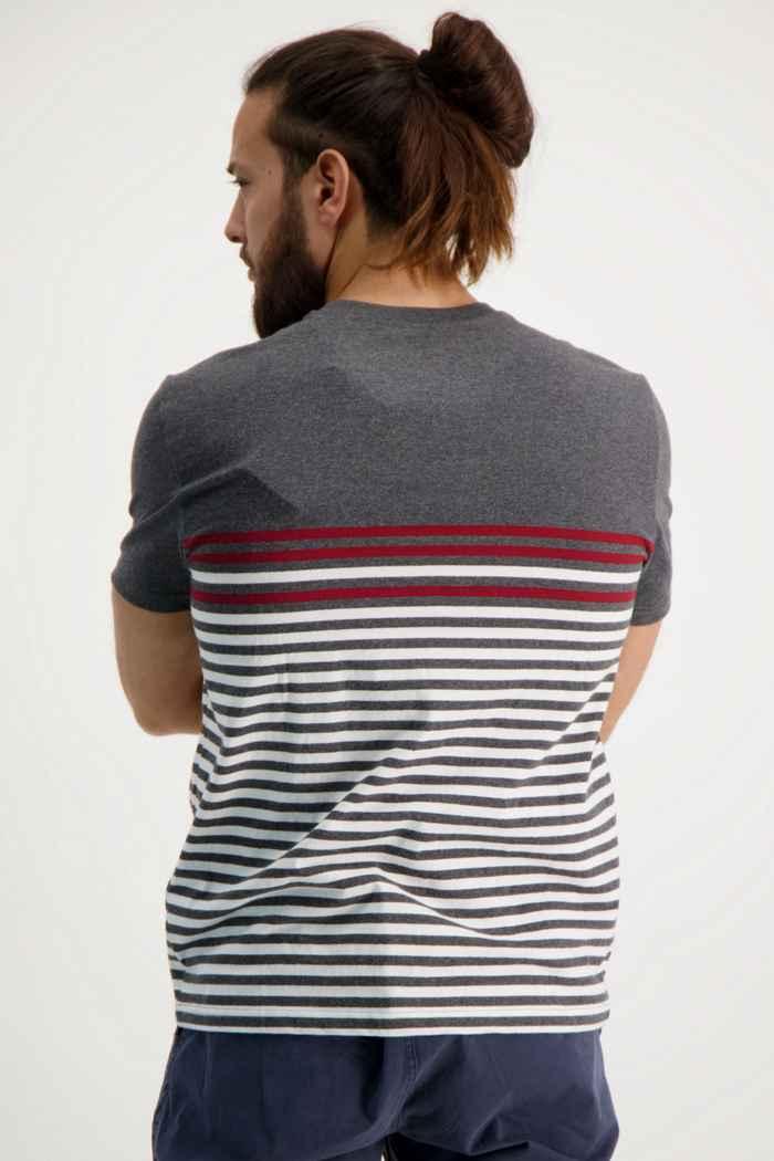 Beach Mountain t-shirt uomo Colore Nero-bianco 2