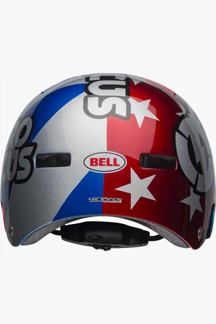 Bell Local casco per ciclista Colore Blu-rosso 2