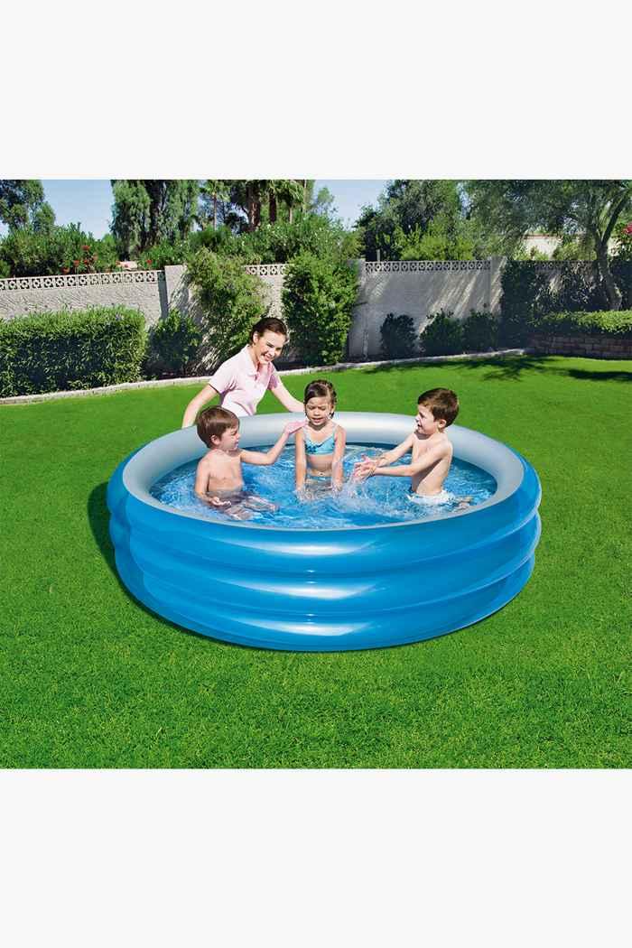 Bestway Big Metallic 3-Ring piscine 2