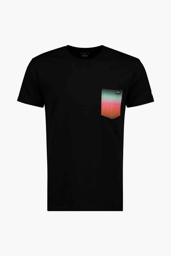 Billabong Team Pocket 50+ Herren Lycra Shirt Farbe Schwarz 1