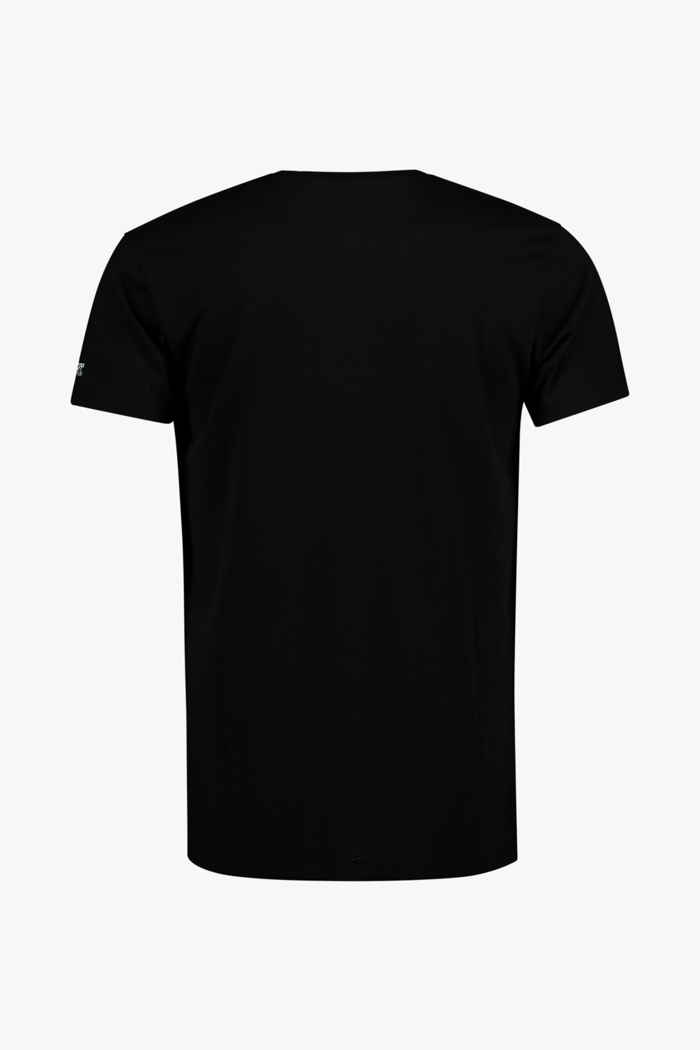 Billabong Team Pocket 50+ Herren Lycra Shirt Farbe Schwarz 2