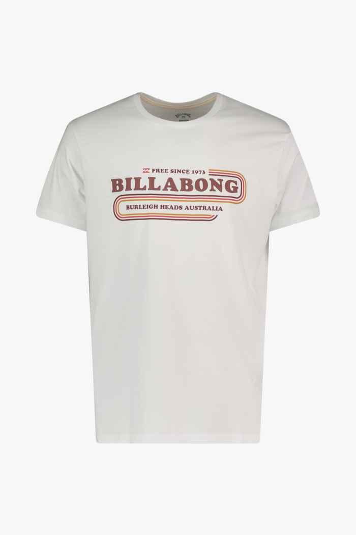 Billabong Wavy t-shirt hommes Couleur Blanc 1