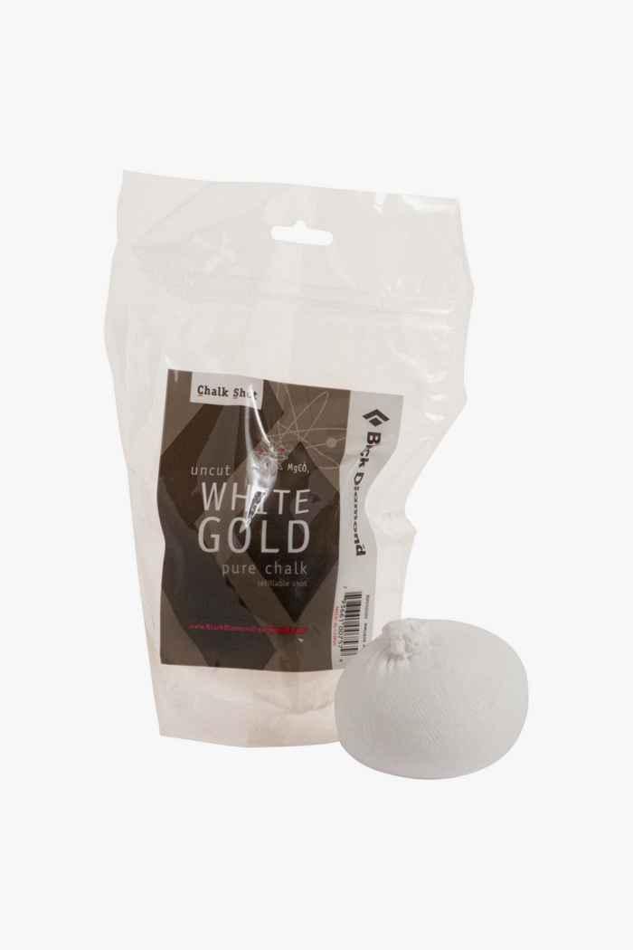 Black Diamond Refillable White Gold Shot Chalk 1