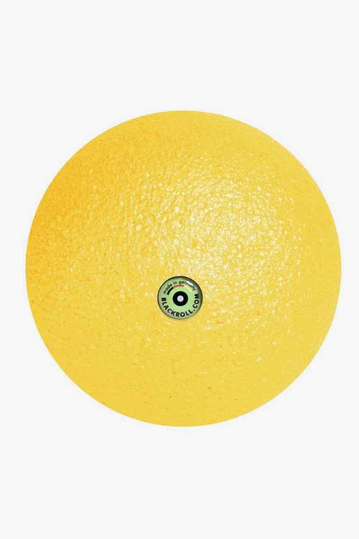 Blackroll 12 cm pallina da massaggio Colore Giallo 1