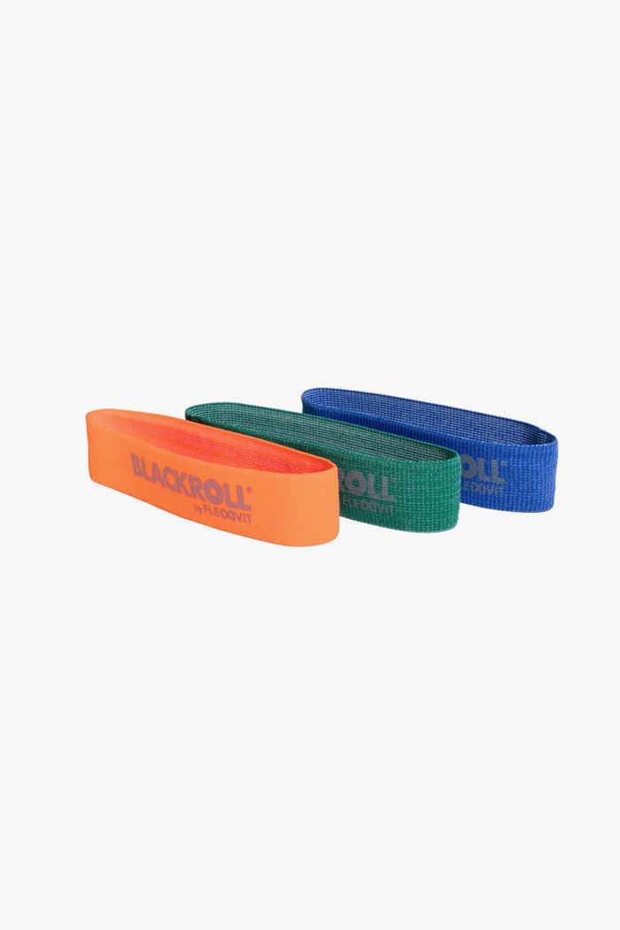 Blackroll 3-Pack Loop bande élastique de musculation 1