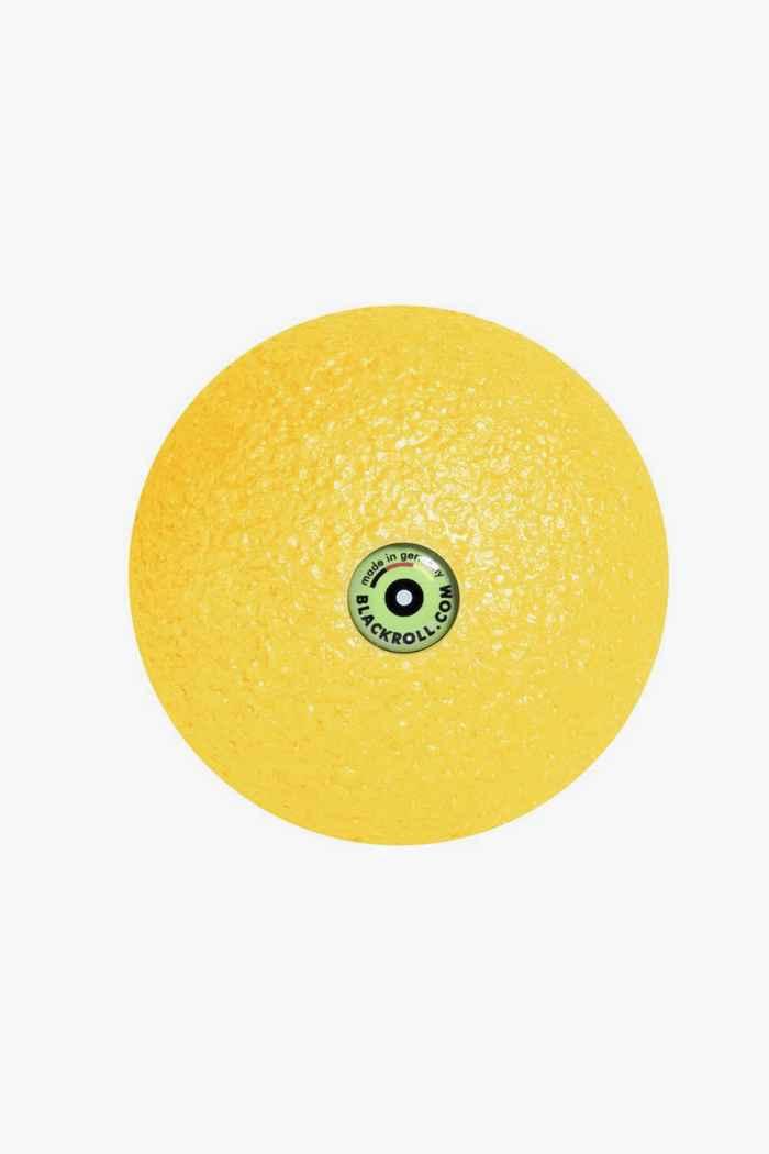 Blackroll 8 cm pallina da massaggio Colore Giallo 1