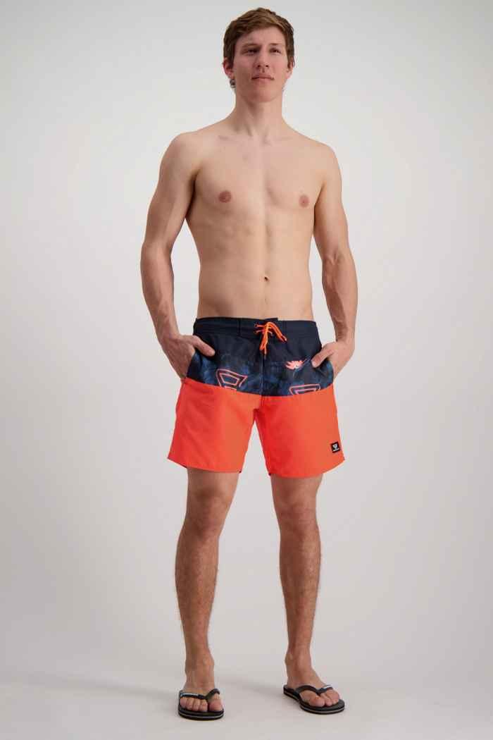 Brunotti Catamaran maillot de bain hommes Couleur Orange 1