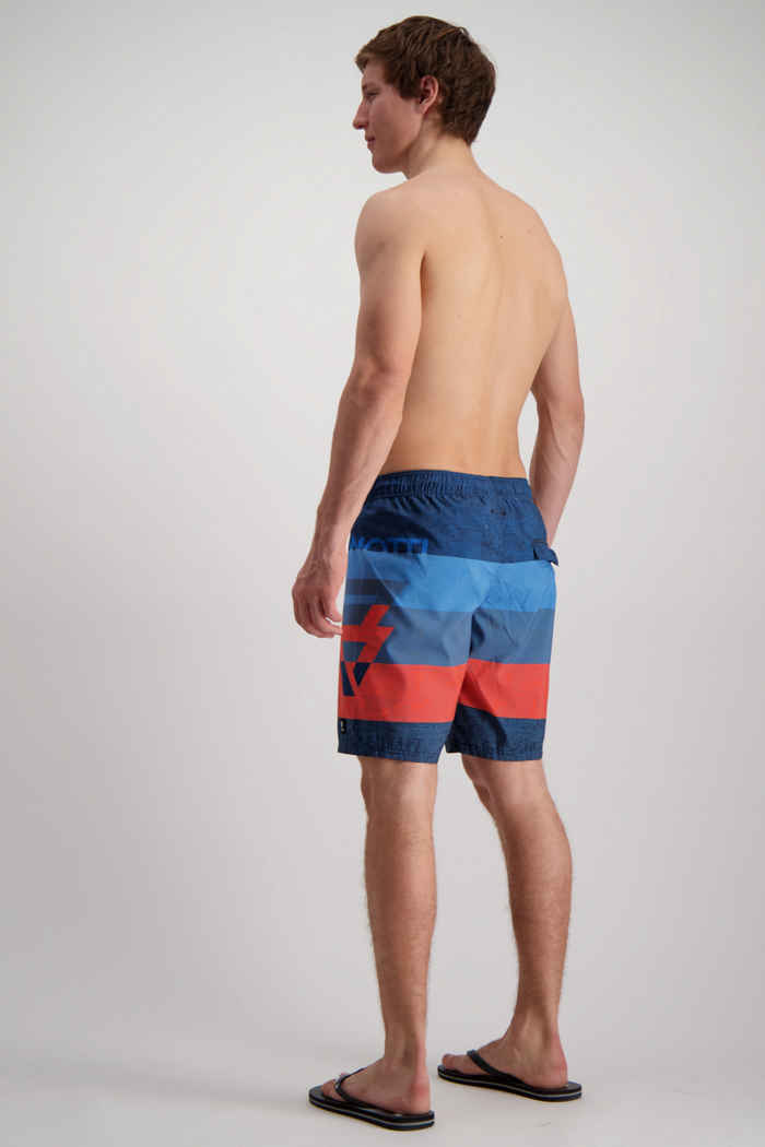 Brunotti Kelvin maillot de bain hommes Couleur Bleu/rouge 2