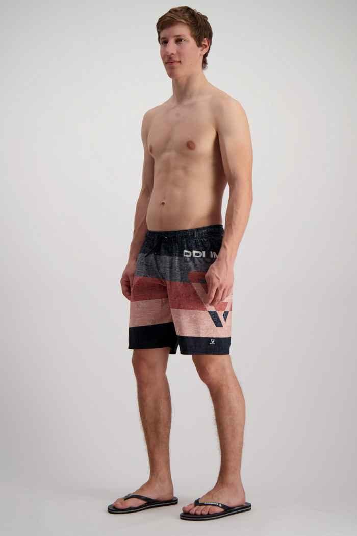 Brunotti Kelvin maillot de bain hommes Couleur Noir/gris 1