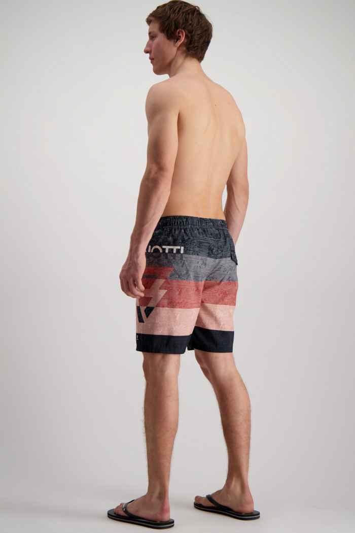 Brunotti Kelvin maillot de bain hommes Couleur Noir/gris 2