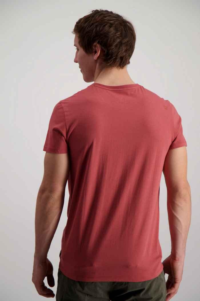 Brunotti Tim Print Herren T-Shirt Farbe Rot 2
