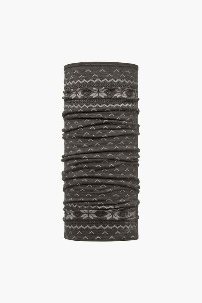 Buff Lightweight Merino neckwarmer Couleur Noir 1
