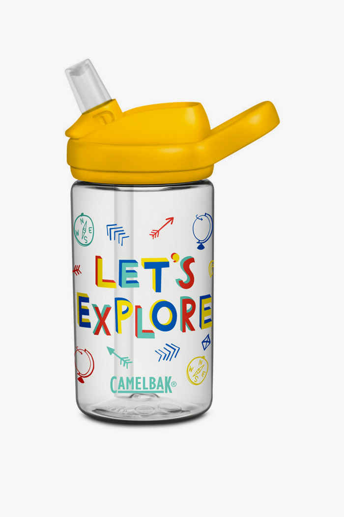CamelBak Eddy+ 0.4 L Kinder Trinkflasche Farbe Gelb 1