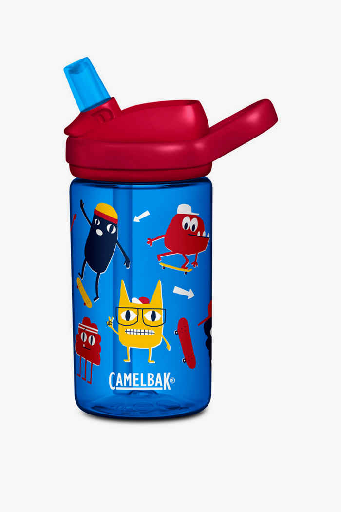 CamelBak Eddy+ 0.4 L Kinder Trinkflasche Farbe Rot 1