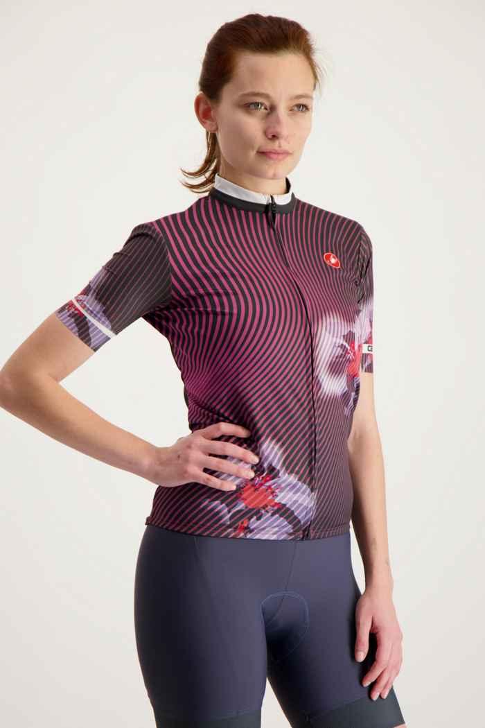 Castelli Primavera maglia da bike donna Colore Bordeaux 1