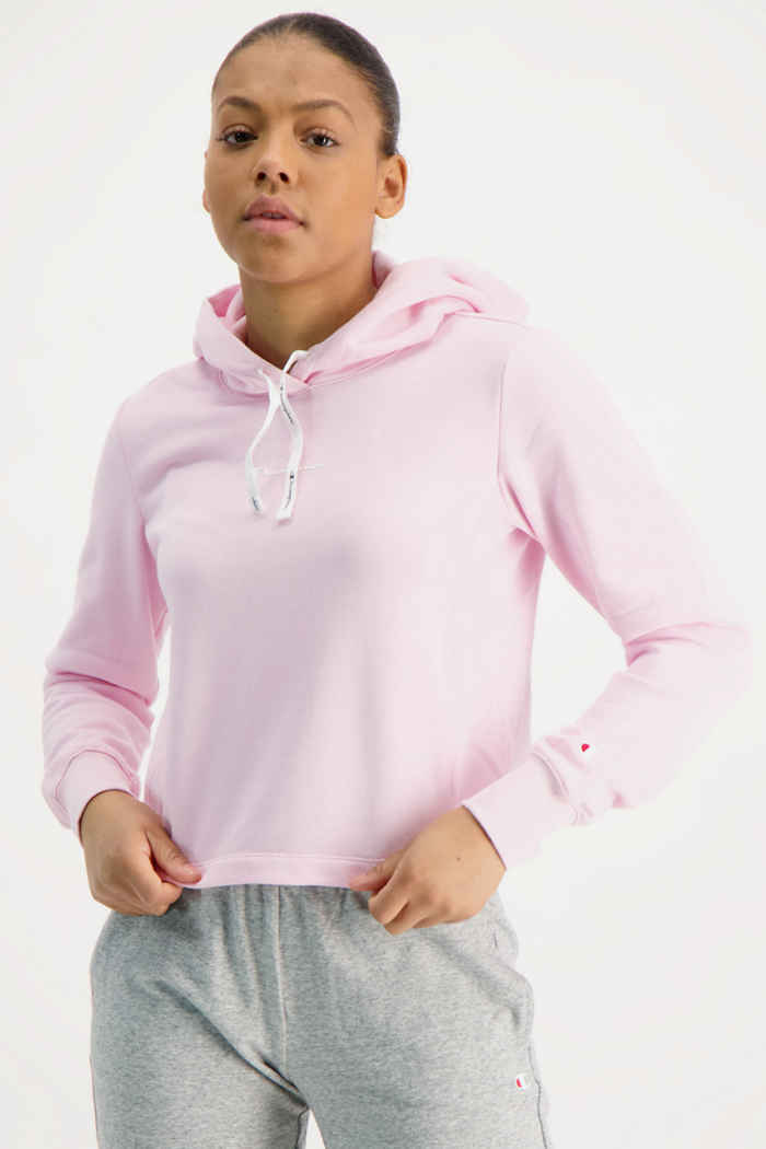 Champion hoodie donna Colore Rosa 1