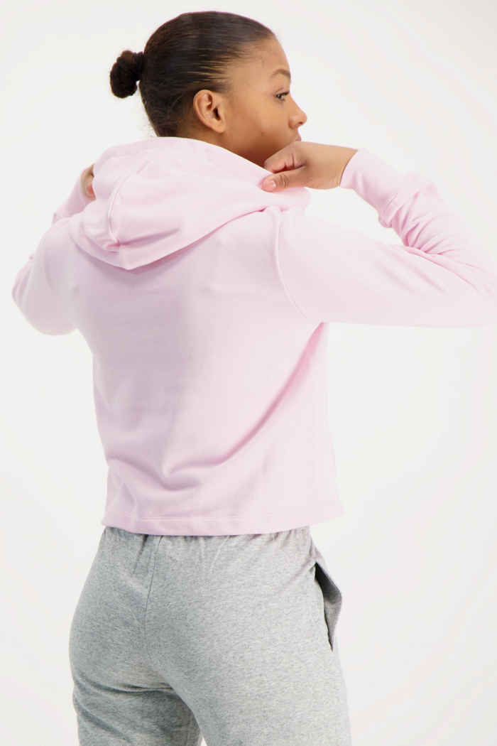 Champion hoodie donna Colore Rosa 2