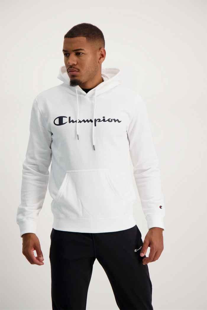 Champion hoodie hommes Couleur Blanc 1