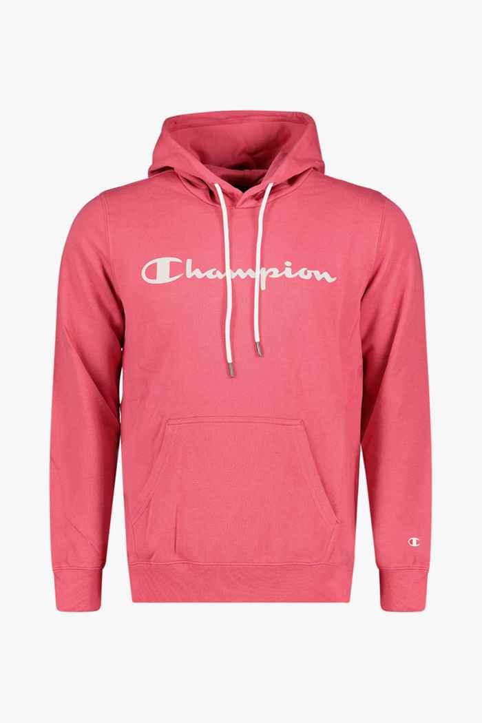 Champion hoodie hommes Couleur Rose vif 1