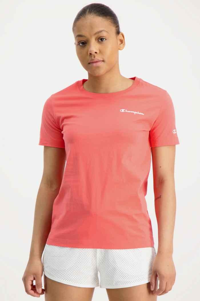 Champion t-shirt donna Colore Corallo 1