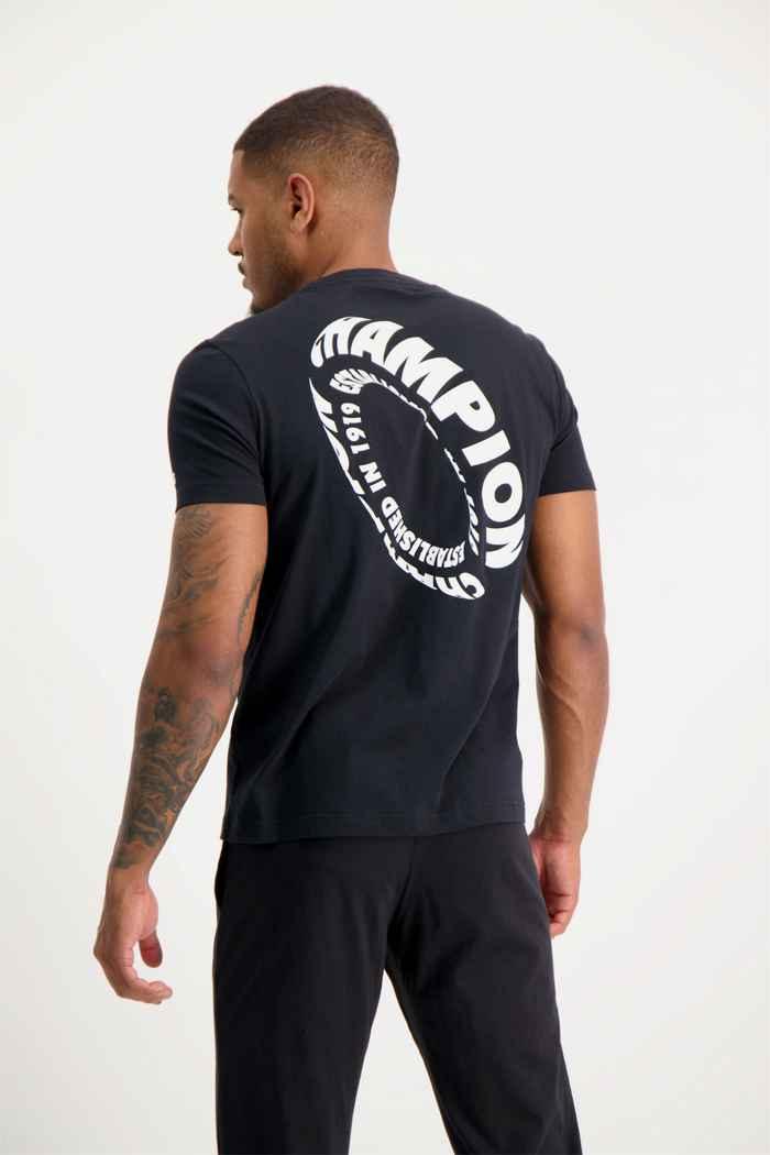 Champion t-shirt hommes Couleur Noir 1