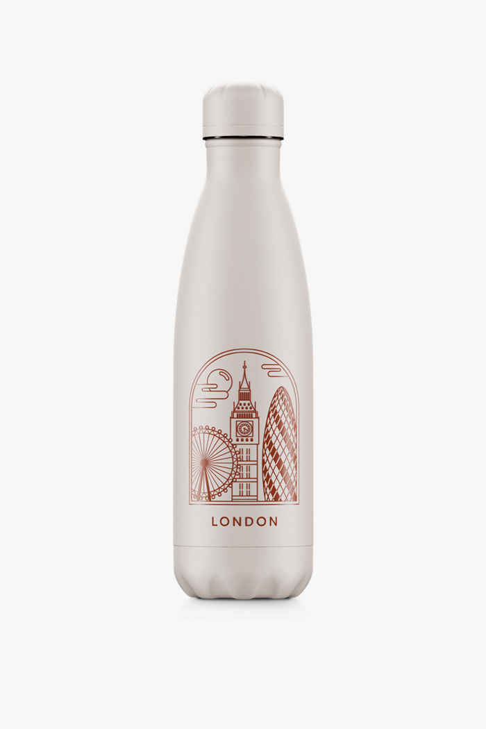 Chilly`s City Break 500 ml Trinkflasche Farbe Rot 1