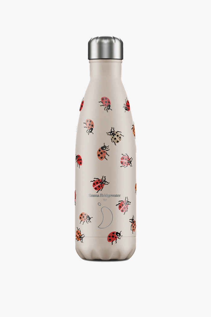 Chilly`s Emma Bridgewater 500 ml gourde Couleur Rouge 1
