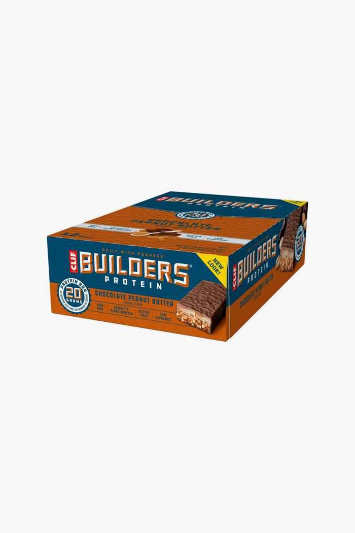 Clif Bar Builders Chocolate Peanut Butter 12 x 50 g barre énergétique 1