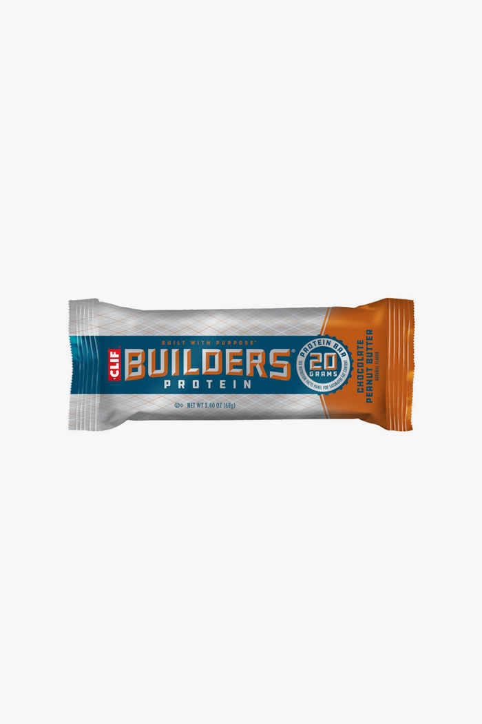 Clif Bar Builders Chocolate Peanut Butter 12 x 50 g barre énergétique 2