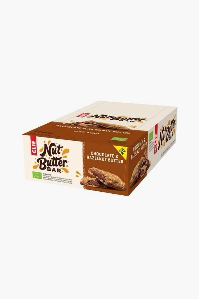 Clif Bar Nut Butter Chocolate Hazlenut Butter 12 x 50 g barretta per lo sport 1