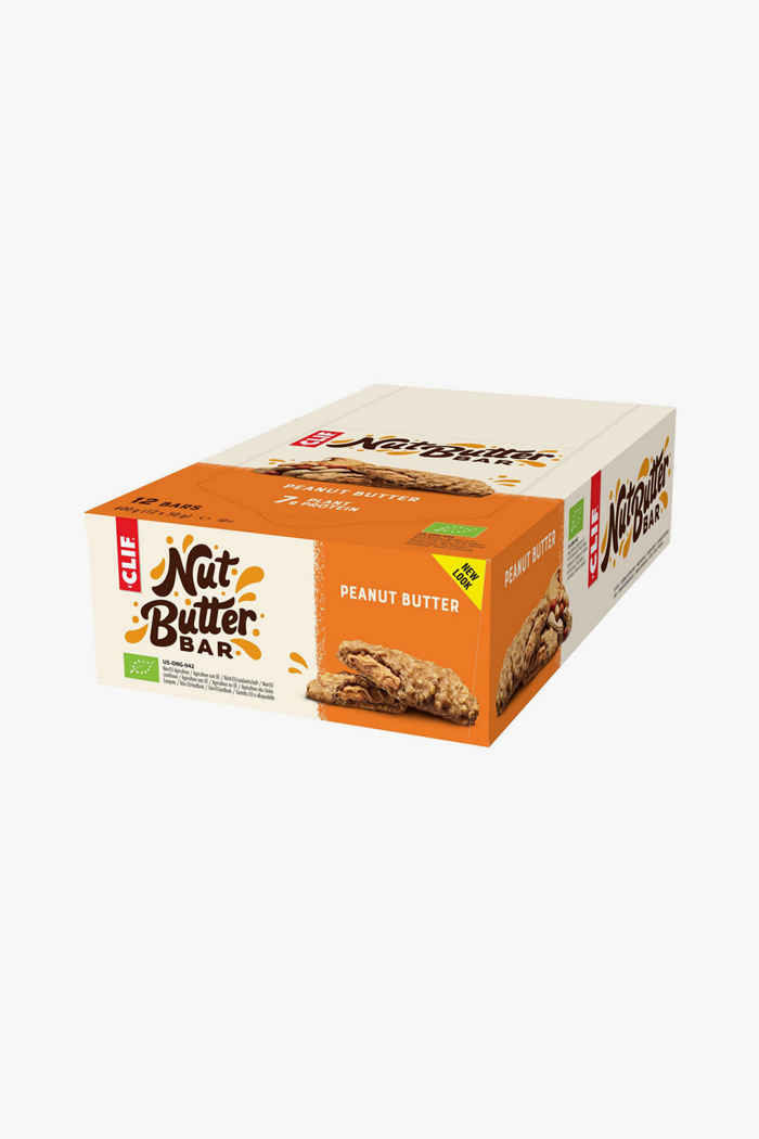Clif Bar Nut Butter Peanut Butter 12 x 50 g barretta per lo sport 1