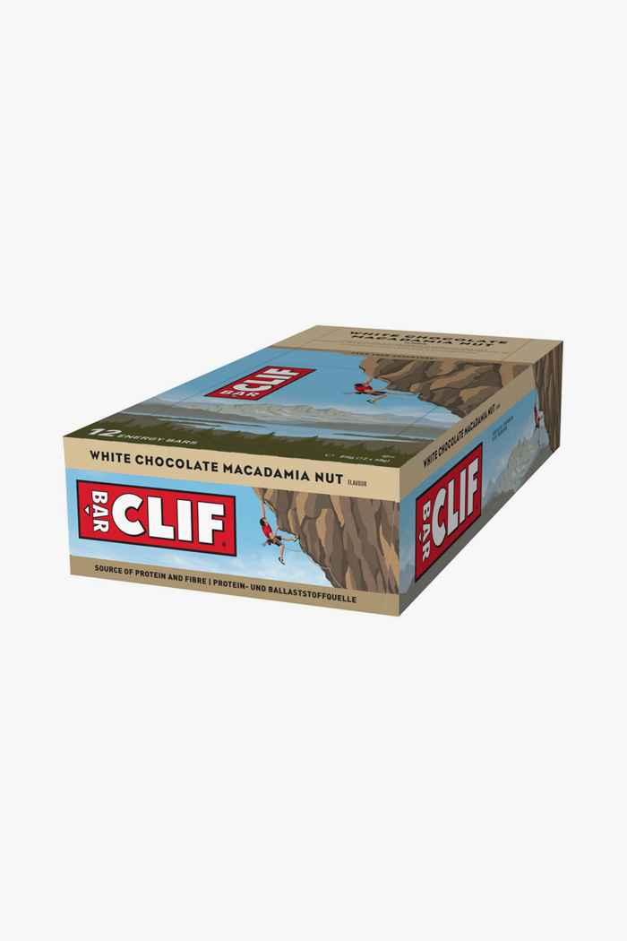 Clif Bar White Chocolate Macadamia Nut 12 x 68 g barre énergétique 1