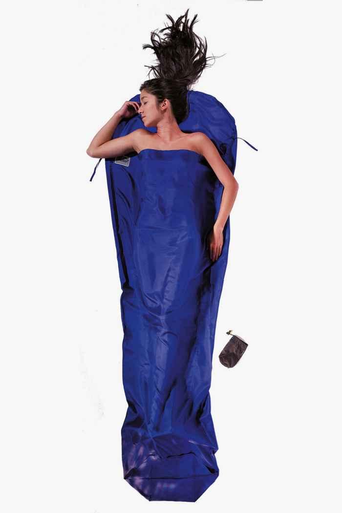 Cocoon MummyLiner sacco a pelo in seta Colore Blu 1