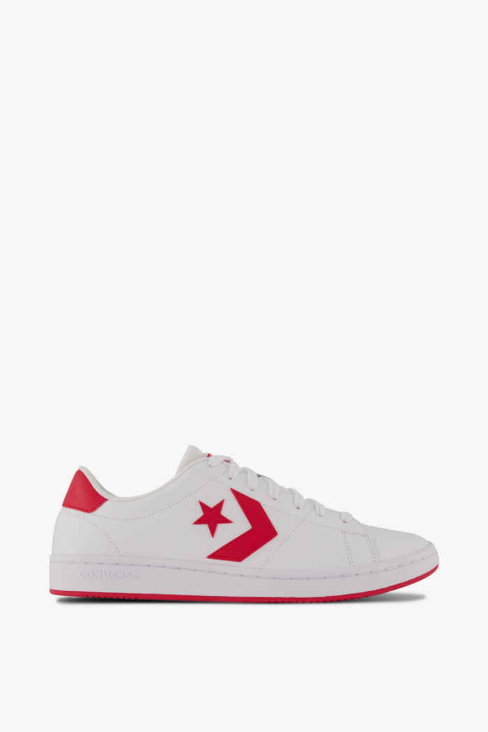 Converse All Court sneaker hommes Couleur Blanc/rouge 2