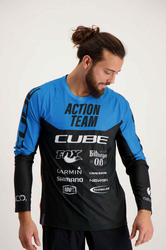 Cube Edge X Actionteam maglia da bike uomo 1