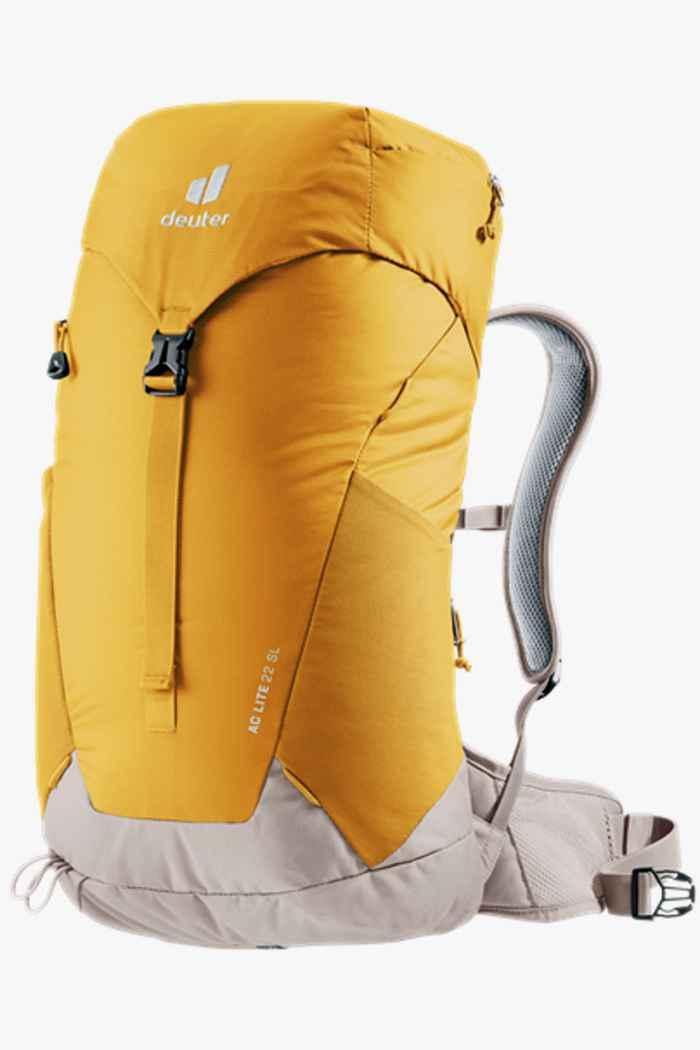 Deuter AC Lite SL 22 L sac à dos de randonnée femmes Couleur Jaune 1