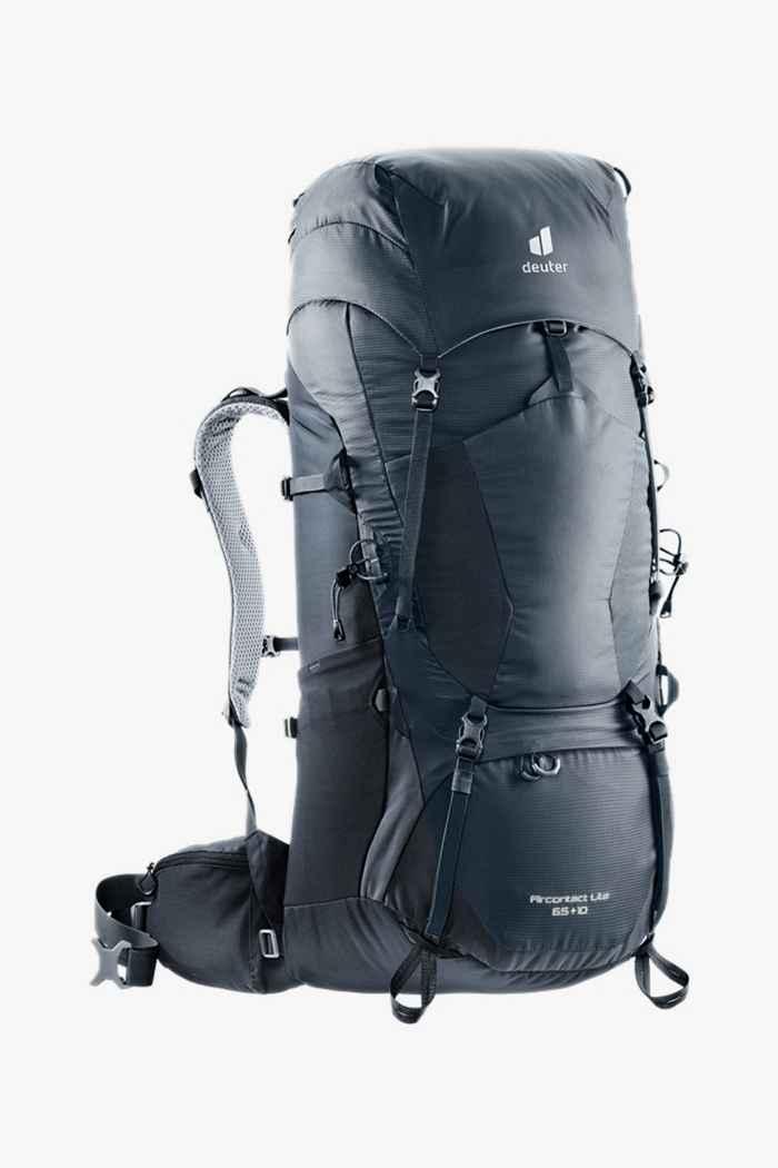Deuter Aircontact Lite 65+10 L sac à dos de randonnée Couleur Noir 1