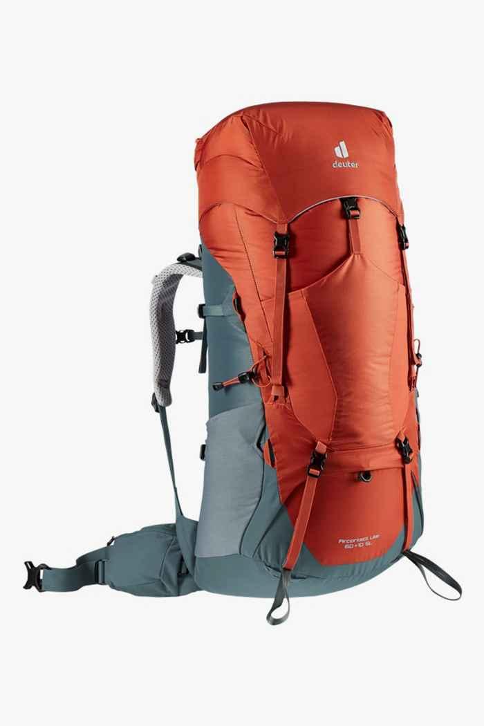 Deuter Aircontact Lite SL 60+10 L sac à dos de randonnée dinna Couleur Rouge 1