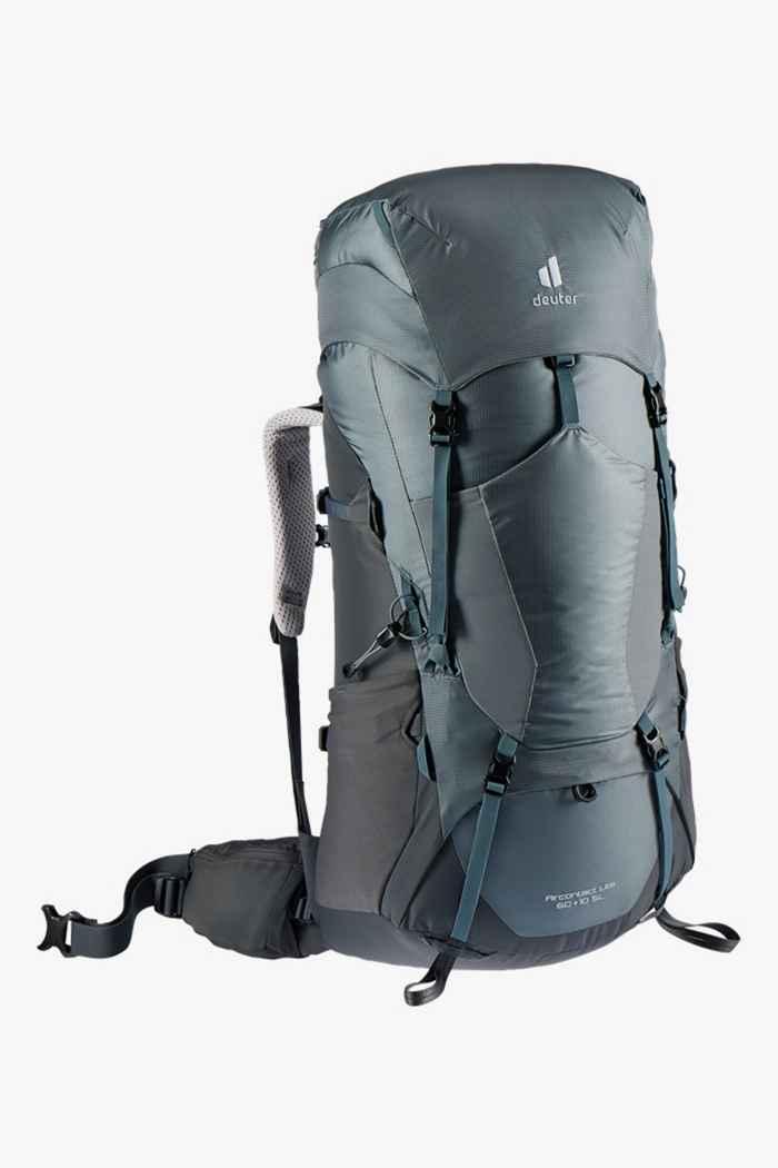 Deuter Aircontact Lite SL 60+10 L sac à dos de randonnée femmes Couleur Gris 1