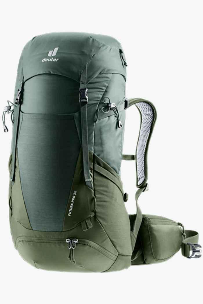 Deuter Futura Pro 36 L sac à dos de randonnée Couleur Vert 1