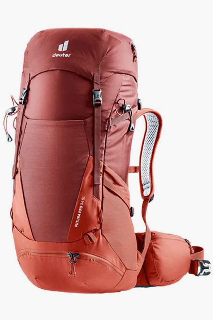Deuter Futura Pro SL 34 L sac à dos de randonnée femmes Couleur Rouge 1