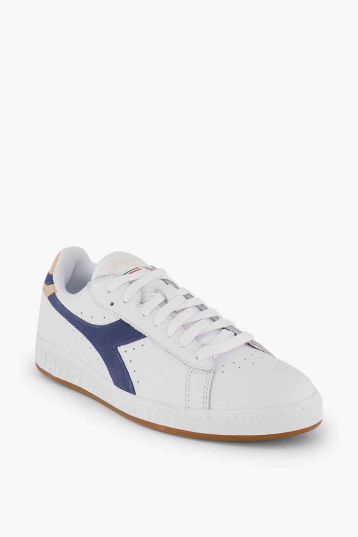 Diadora Game Low Optical Summer sneaker donna Colore Bianco-blu 1