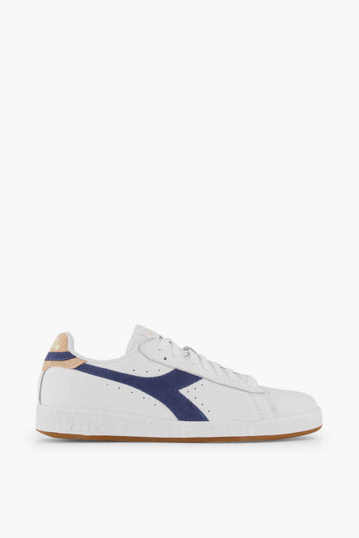 Diadora Game Low Optical Summer sneaker donna Colore Bianco-blu 2