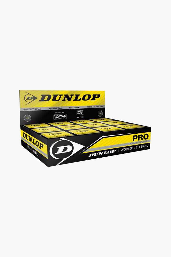 Dunlop 12-Pack Pro Squashball 1