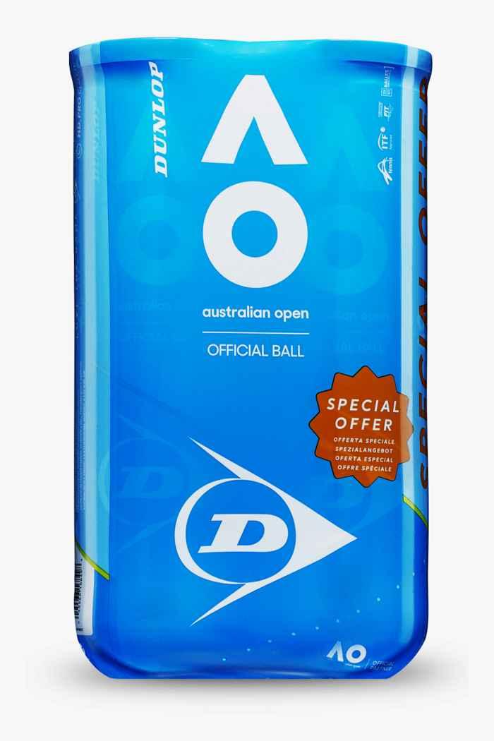 Dunlop AO Bi Pack balles de tennis 1