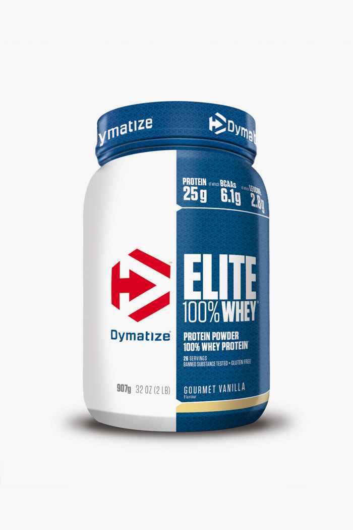 Dymatize Elite Whey Gourmet Vanilla 907g poudre de protéines 1