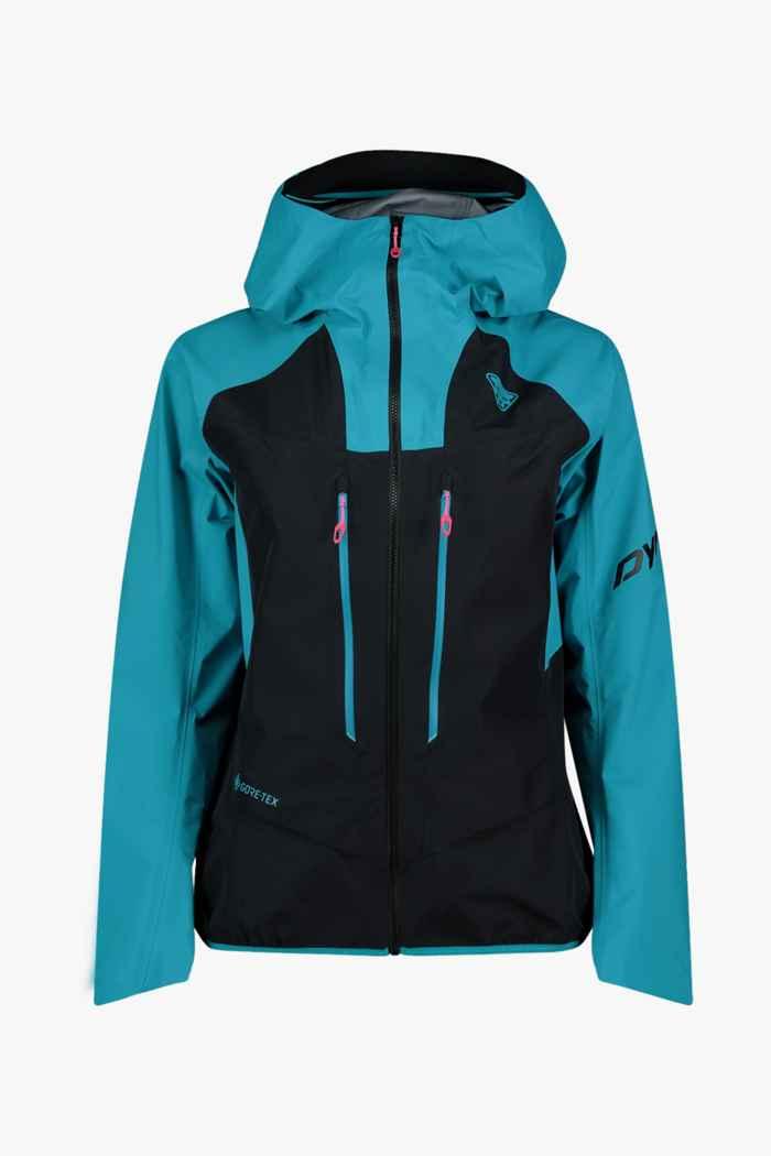 Dynafit TLT Gore-Tex® Damen Skijacke Farbe Blau-schwarz 1