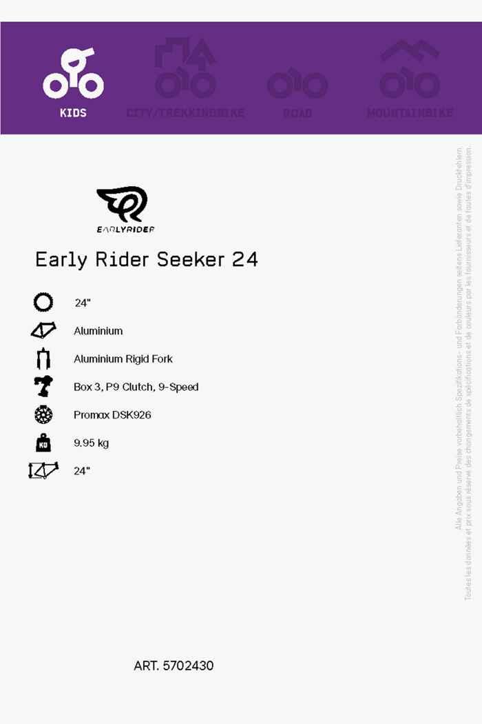 Early Rider Seeker 24 mountainbike enfants 2021 2