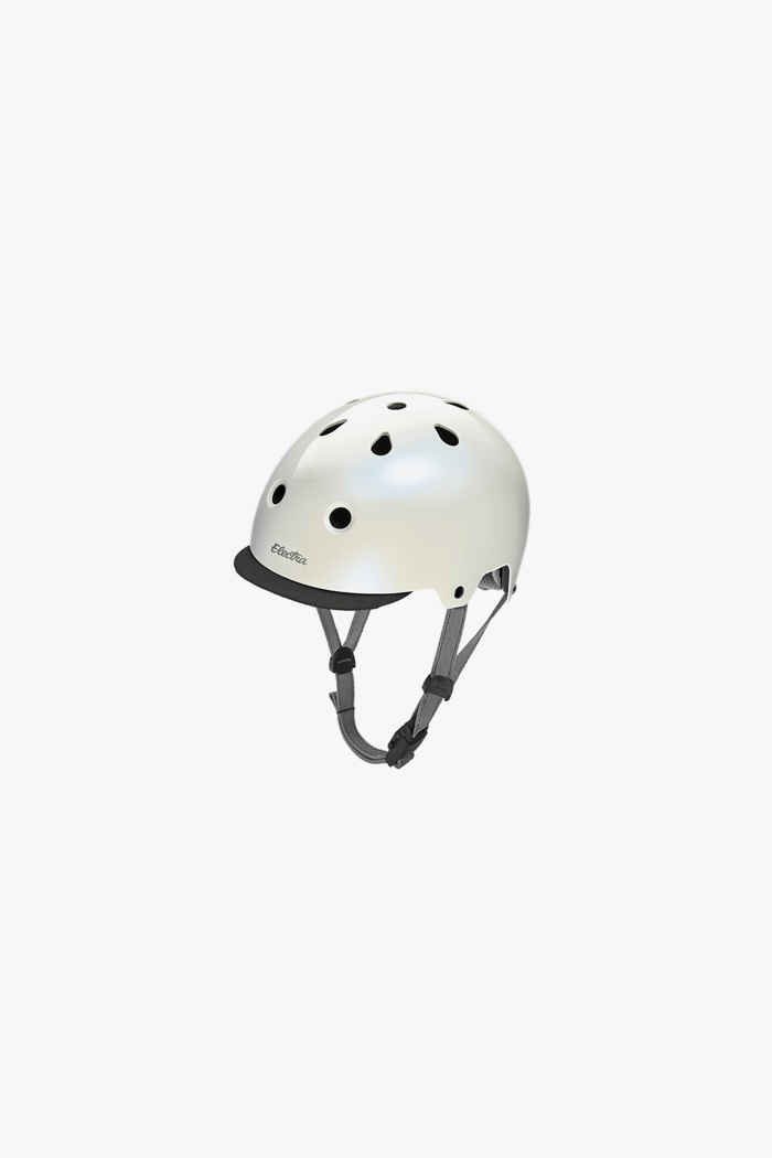 Electra Lifestyle Lux Solid Color Velohelm Farbe Perlweiß 1