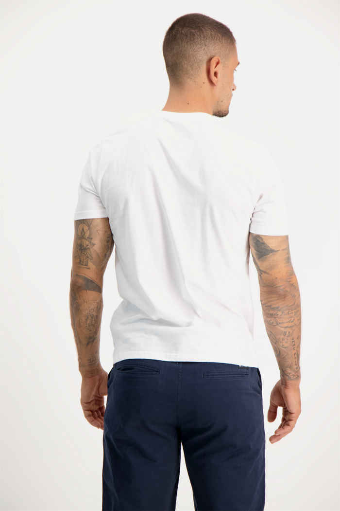 Element Aiken t-shirt hommes Couleur Blanc 2